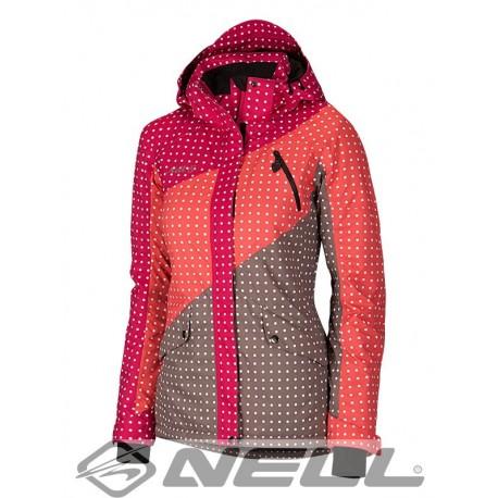 Dámská lyžařská bunda Nell W14810, růžová