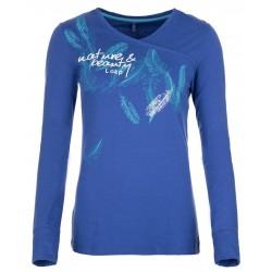 Loap BAMBOO triko dámské, modrá