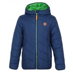 Loap ULRICH dětská zimní bunda modrá L23P