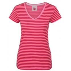 Loap BETANA dámské triko, růžové pruhy J85J