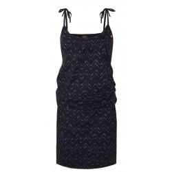 Loap ABA dámské šaty, černé V21X