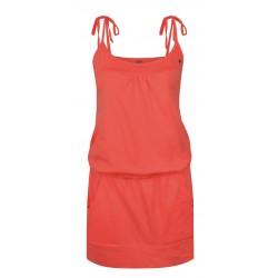 Loap ANTENA dámské šaty, oranžová neon E47E