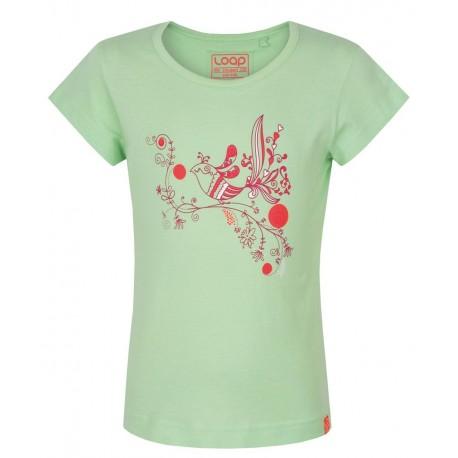 Loap ILFA dětské triko, zelené P23P