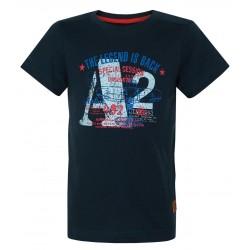 Loap ILTUS dětské triko, tmavě modré M97M