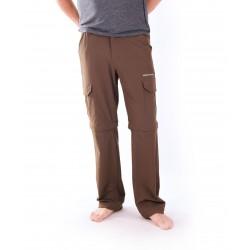 Pánské kalhoty NorthFinder NO-30591X3M, hnědá,černá