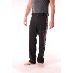 Pánské softshellové kalhoty NO-3070OR, černočervená