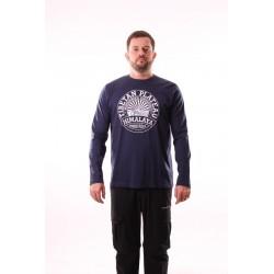 Pánské tričko dlouhý rukáv NorthFinder TR-3045OR, modrá
