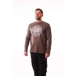 Pánské tričko dlouhý rukáv NorthFinder TR-3045OR, zelená(khaki)