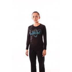 Dámské tričko dlouhý rukáv NorthFinder TR-4047SIII, černá