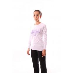 Dámské tričko dlouhý rukáv NorthFinder TR-4047SIII, bílá