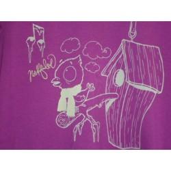 Dámské tričko dlouhý rukáv NorthFinder TR-4046OR, fialová