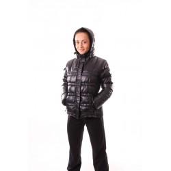Dámská zimní bunda NORTHFINDER BU-4133SI, černá, bílá