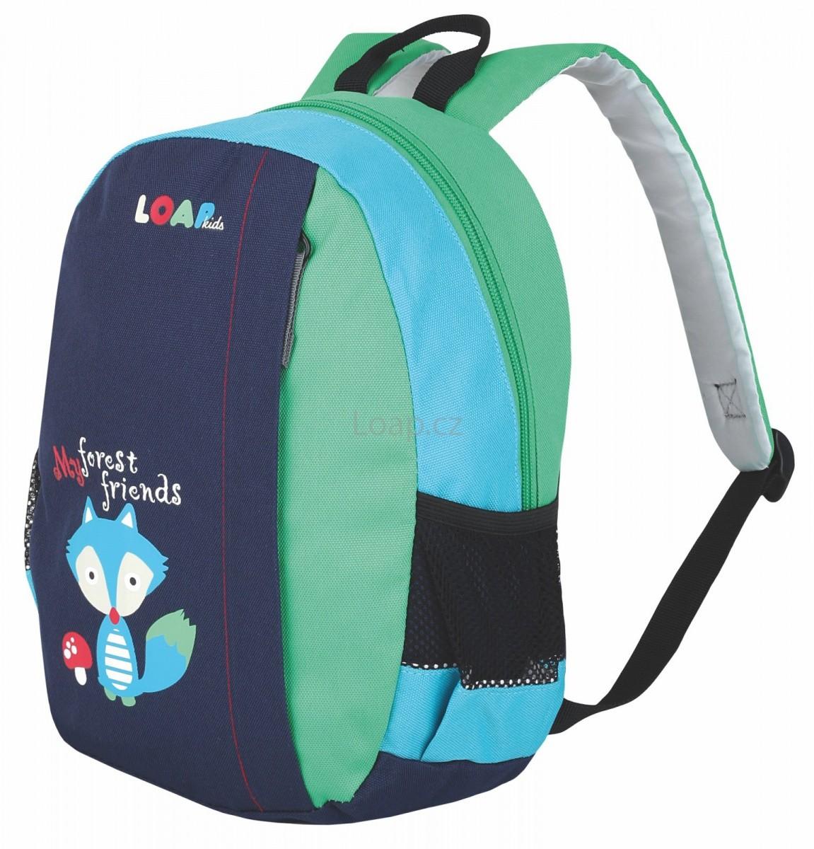 dětský batoh loap alma modrá barva 10l 45ed845616