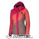 Dámská lyžařská bunda Nell DALE W14810, růžová, L13