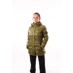 Dámský zimní kabát NORTHFINDER BU-4131SI, zelená