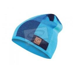 Zimní čepice Loap ZIRKON, modrá