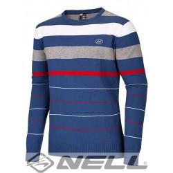 Pánský svetr Nell Danyl W14701, modrá