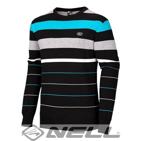 Pánský svetr Nell Danyl W14701, černá