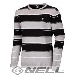 Pánský svetr Nell Danyl W14701, šedá