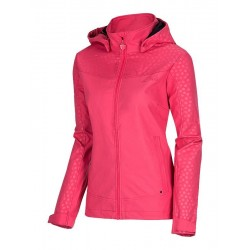 Softshellová bunda dámská Nell ELLIE S15803, růžová