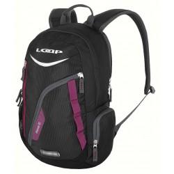 Loap NEXUS batoh školní, černá/fialová, V11K