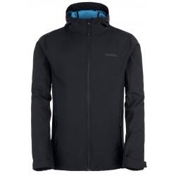 Loap LEANDROS softshellová bunda pánská, černá