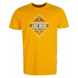 Loap BERGER pánské triko, žlutá