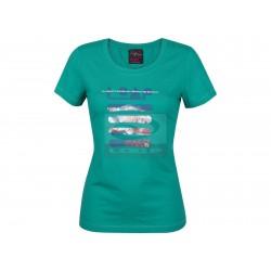 Dámské tričko Loap MAGGIE, zelená