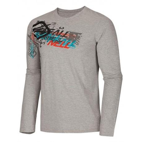 NELL DAMIAN W14110 tričko pánské, šedá