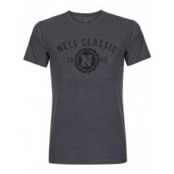 Pánské šedé tričko NELL 103-165-07