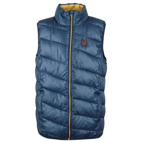 Dětská sportovní prošívaná vesta Loap BAFI, modrá