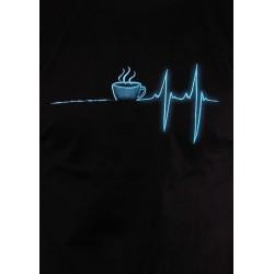COFFEE HELP pánské tričko Bastard, černá