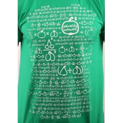MATEMATIK pánské tričko BASTARD, zelená