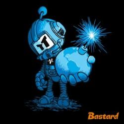 ČASOVANÁ BOMBA pánské tričko BASTARD