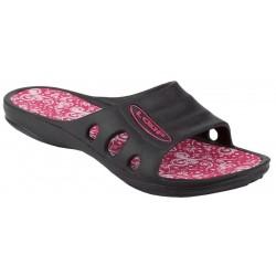 Dámské sportovní pantofle Loap RUBY, černá/růžová V20J