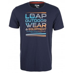 Loap BALCANO pánské triko, modrá
