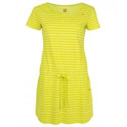 Loap APOKI dámské šaty, žlutá
