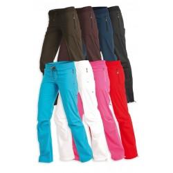 Bokové dámské dlouhé kalhoty Litex 99518