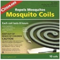 Odpuzovač komárů - spirály proti hmyzu Coghlan´s