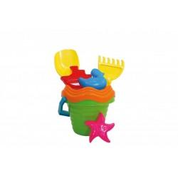 Sada na písek kyblík + hračky