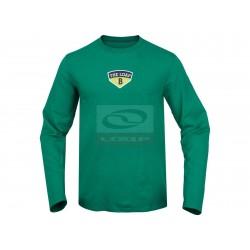 Pánské tričko dlouhý rukáv Loap EARLE,zelená