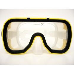 Potápěčské brýle pro dospělé TAHITI, žluté