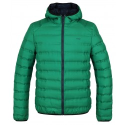 Loap ITARIEM pánská zimní bunda do města, zelená