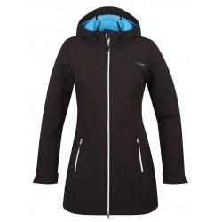 Loap LELA dámský softshellový kabát, černý