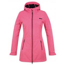 Loap LELA dámský softshellový kabát, růžový