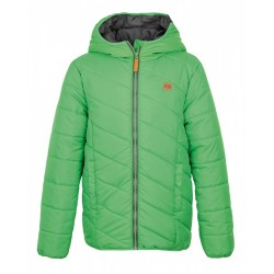 Loap ULRICH, dětská zimní bunda zelená P04P