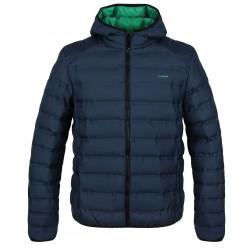 Loap ITARIEM pánská zimní bunda do města, modrá