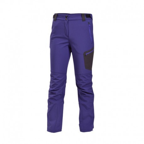 NORTHFINDER NO-4231OR DIXIE softshellové zimní kalhoty, fialová