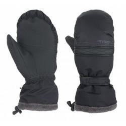 Loap RUMBA lyžařské palcové rukavice, černé