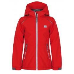 Loap CYRUS dětská softshellová bunda, červená G38G